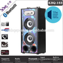 China wholesale 2 external microphone slot car bluetooth speaker