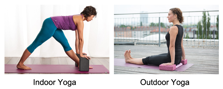 Extra Thick Yoga Blocks Product Application
