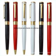 Nouveau jeu de stylo à bille roulante en métal de promotion de conception (LT-C491)