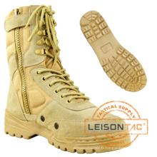 Bottes militaires de l'armée du désert du cuir ou de Cordura