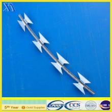 PVC recubierto Bto-22 alambre galvanizado de la maquinilla de afeitar (XA-RW016)
