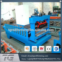 Machines for manufacturing corrugated roofing making machine