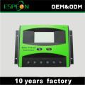 30А ШИМ 12 В 24 в солнечной энергии контроллер заряда с ЖК-дисплеем