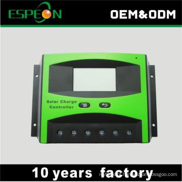 Controlador da carga das energias solares de 30A PWM 12V 24V com exposição do LCD