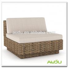Audu Cadeira de alta qualidade, Sofá de alta qualidade Cadeira de almofada de ratã