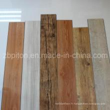 Planche de revêtement de sol en vinyle écologique en PVC