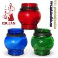 Small Size Modern Blown Glass Shisha Hookah Vase