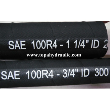 sae 100 r4 industrial rubber air hose