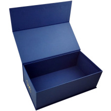 Custom cardboard paper gift packaging box with book type