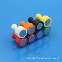 NdFeB coloful plastic fridge magnet souvenir