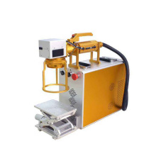 Mini Fiber Laser Marking Machine for Bamboo/Stainless Steel