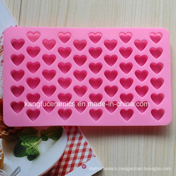 2015 Wholesales Heart Shape Silicone Fondant Mold