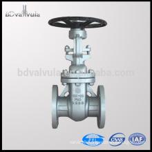 "API 6D gate valve A216 WCB 2"" inch wedge gate valve"
