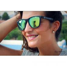 F7092 Coloré Lenshigh qualité Cat 3 UV400 lunettes de soleil pour la Promotion