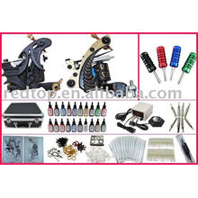 Best quality professional tattoo kit& 2 gun,ink grip Included