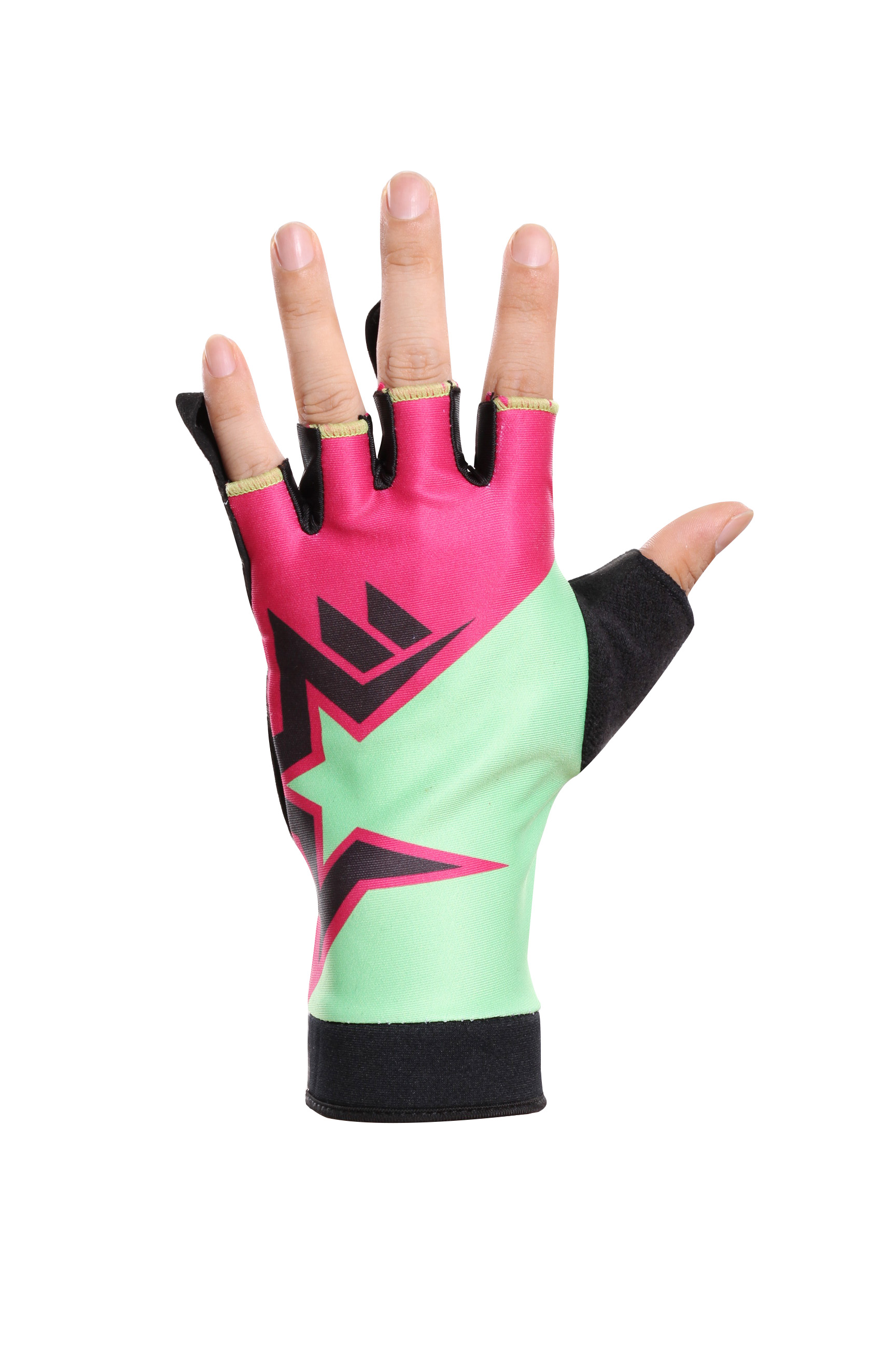 half finger protective bicycle gloves
