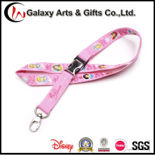 Cartoon Silk Screen Printing Polyester Cute Lanyard