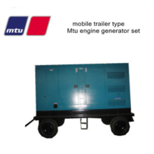 Звукоизолированный дизель-генератор мощностью 350 кВА Mtu