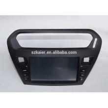 ¡Fábrica directamente! Reproductor de DVD del coche de Android 4.4 para Citroen Elysee / peugeot 301 + OEM + DVR + ¡Dual core!