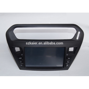 Factory directly !android 4.4 car dvd player for Citroen Elysee/peugeot 301 +OEM+DVR+Dual core !