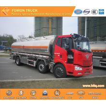 FAW 6X2 aluminium oil tank truck