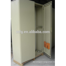 Custom sheet metal powdercoating distrubution box