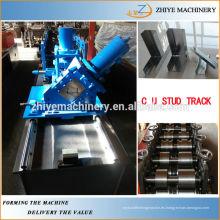 Metal de acero galvanizado Perfiles de Omega Máquina formadora de rollo Fabricante chino
