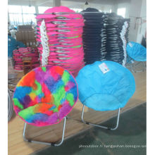 Round egg chair,foldable adult moon chair and kids moon chair