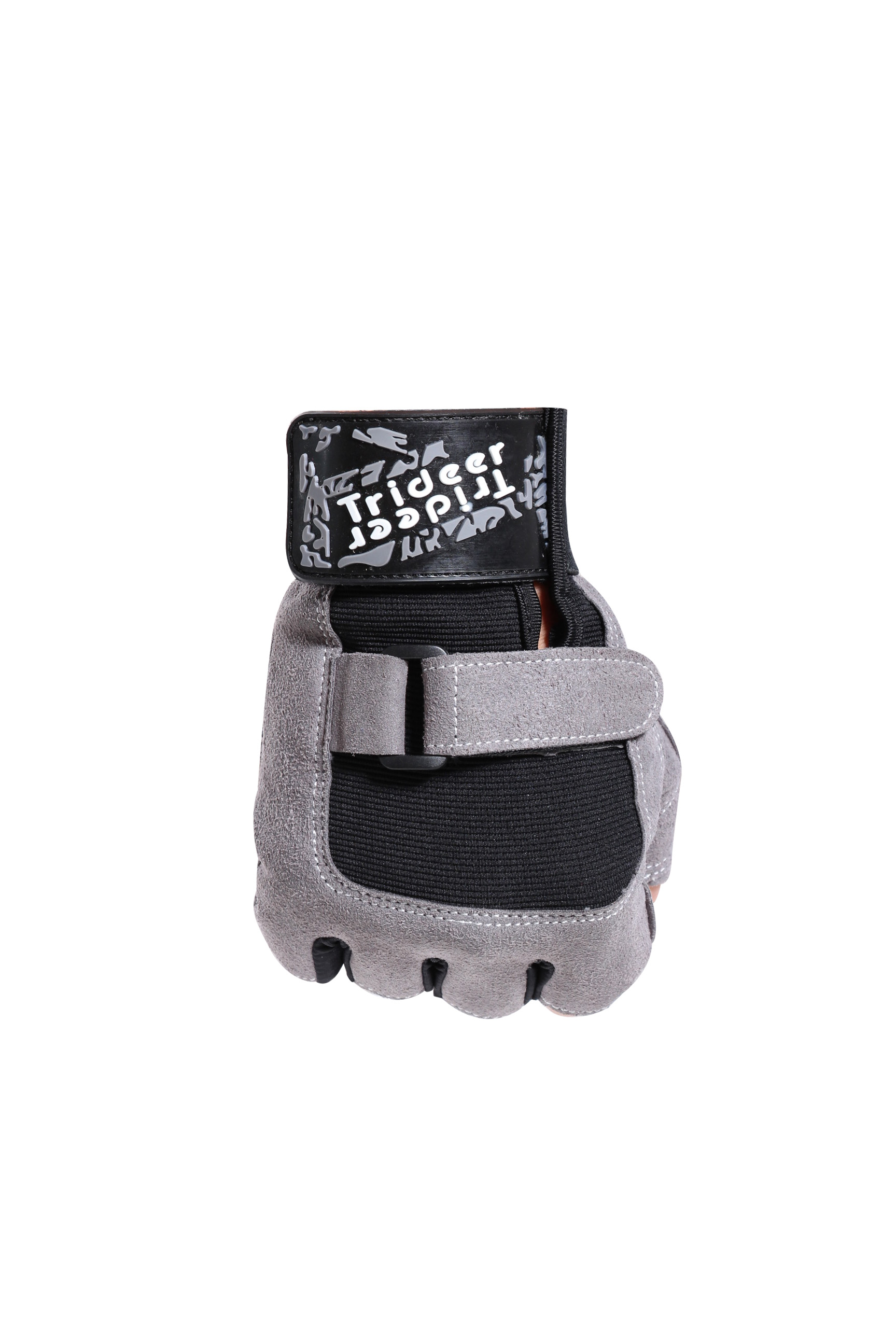 soft half finger bicycle buckle gloves