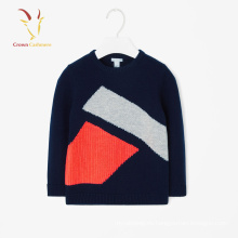 Jersey de cachemir de otoño jersey niño patrón jersey de cachemir infantil