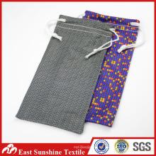 Microfibra bolsa de cordón para regalo
