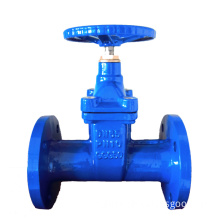 Ducitle Iron Flanged Resilient Gate Valve DIN3202 F5 Pn16