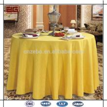 100% polyester Fabriqué en usine Jacquard Luxurious Fancy Wedding Table Tissus