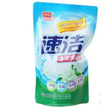 500g Ny bolsa / bolsa de detergente Gusseted / bolsa de detergente de lavandería de plástico