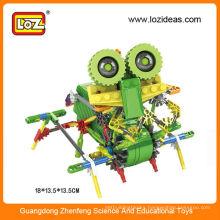 Diy building blocks educational robot