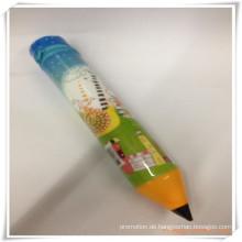 Medium Bleistift Form Bleistift Tasche / Case Set für Promotion