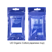 Ud Wholesale 100% Original 5PCS Muji Atomizer Wicking Original Ud Organic Muji Cotton
