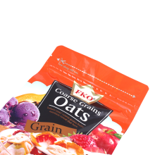 Gusseted Stand-up Foil Packaging Bag For Oat