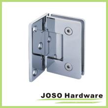 Dobradiça de porta de chuveiro de vidro para parede rectilícel de 90 graus (BH1001A)