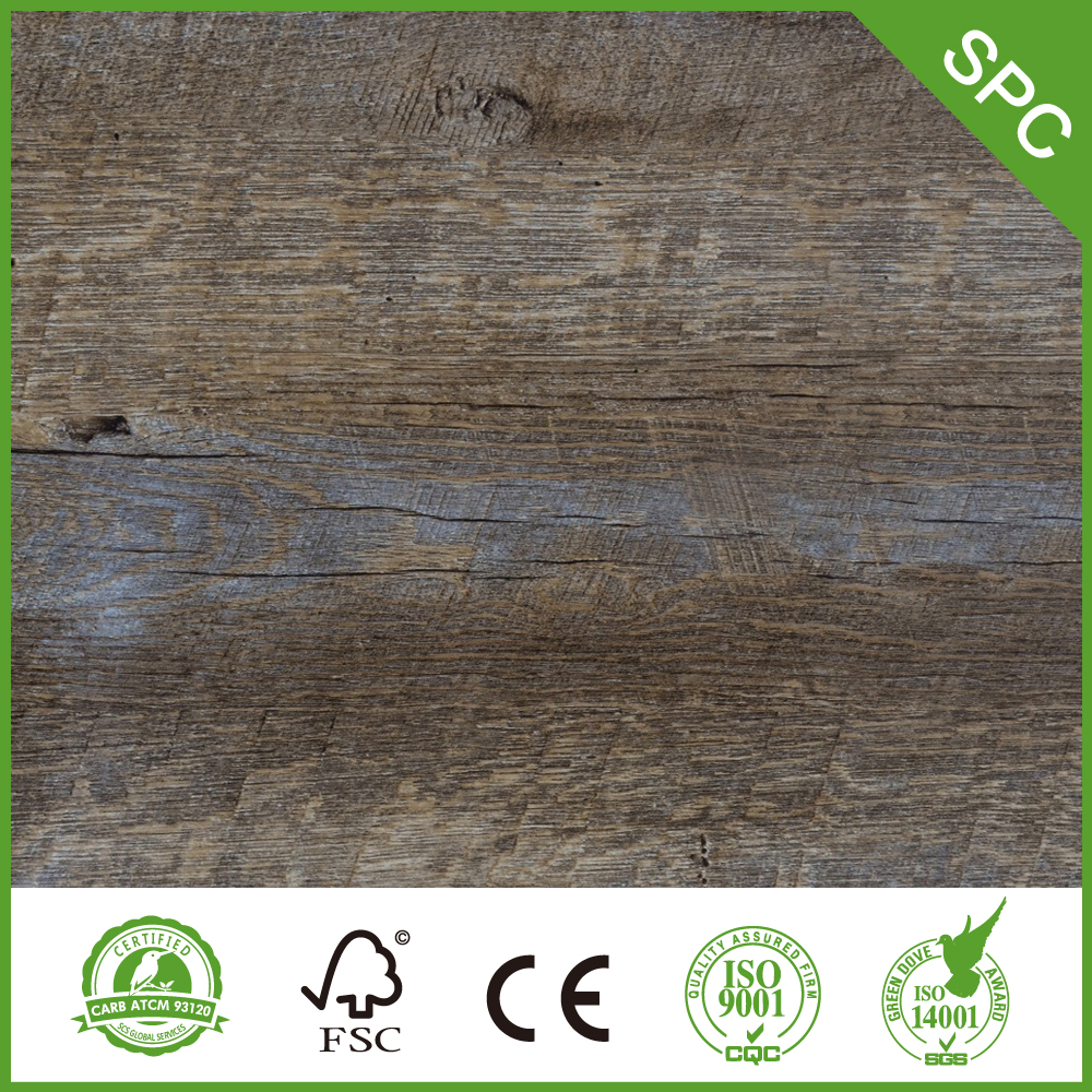 Good Price Spc Plank with Cork