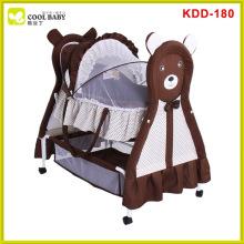 Heiße Verkauf weiße bewegliche faltende Babybassinet-Baby-Aufnahmevorrichtung