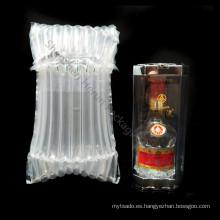 Bolsa de aire portátil para el envío de vino