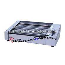 K126 Нержавеющей Стали Электрический Роллинг Хот-Дог Гриль