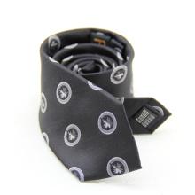 Cravate florale de haute qualité 100% de marque privée pour les hommes