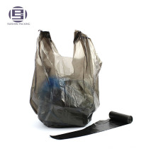 Recycle hdpe plastic vest handle trash garbage packing bags