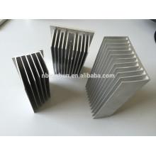 Perfiles de extrusión de aluminio para disipador térmico