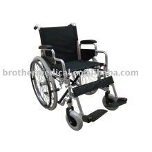 Plata Auto-propulsada Silla de ruedas manual estándar BME4617S