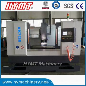 XK7136 fresadora de fresado vertical CNC de metal