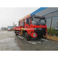 4x2 Telescoping Boom truck mounted crane for sale