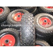 pneumatic rubber wheel 10inch